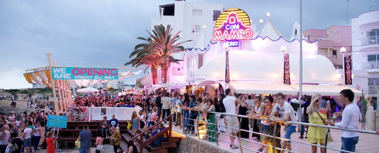Ibiza, Beach Bar, Cafe Mambo