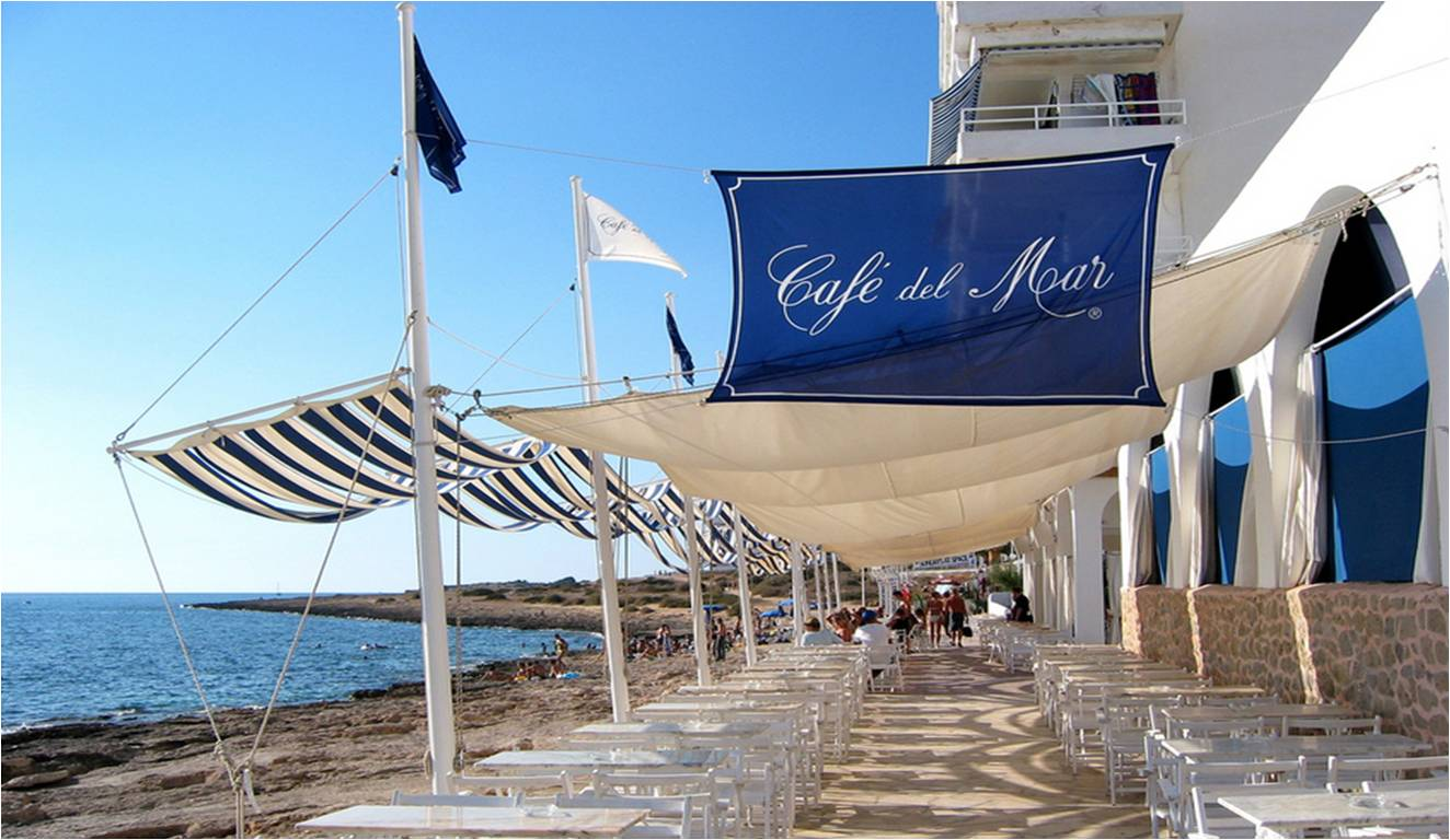 Ibiza, Beach Bar, Cafe Del Mar