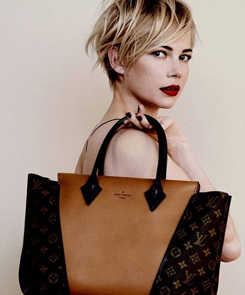 мода, Louis Vuitton, Michelle Williams